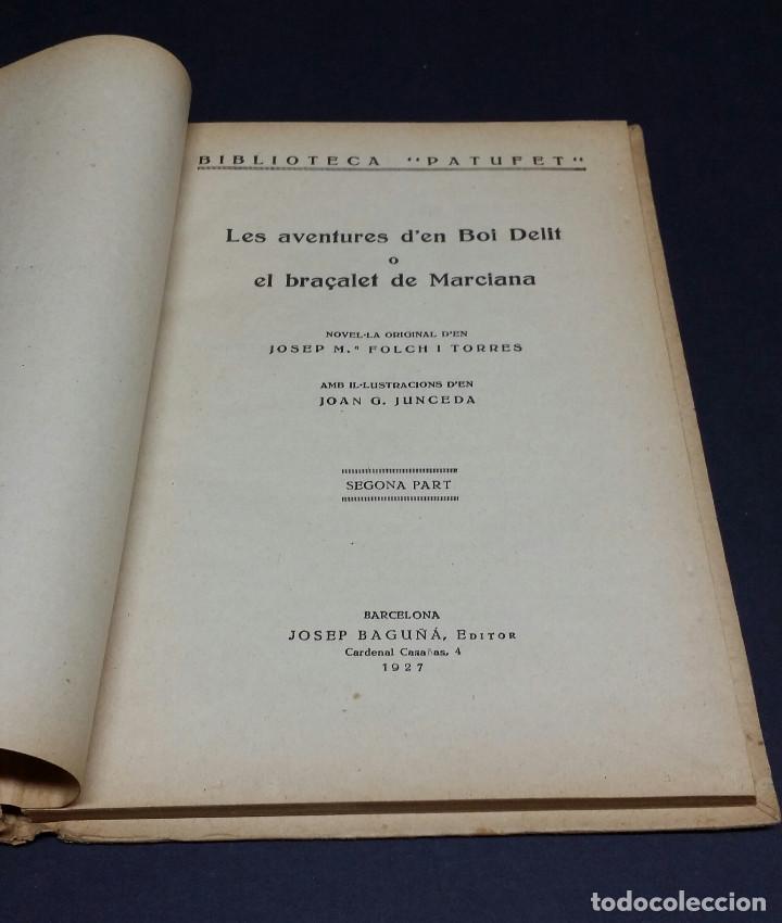 Libros antiguos: 2 libros de la Biblioteca Patufet de J.M Folch i Torres. - Foto 4 - 246238075