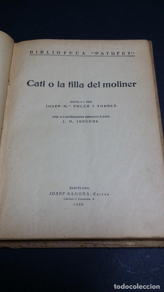 Libros antiguos: 2 libros de la Biblioteca Patufet de J.M Folch i Torres. - Foto 8 - 246238075