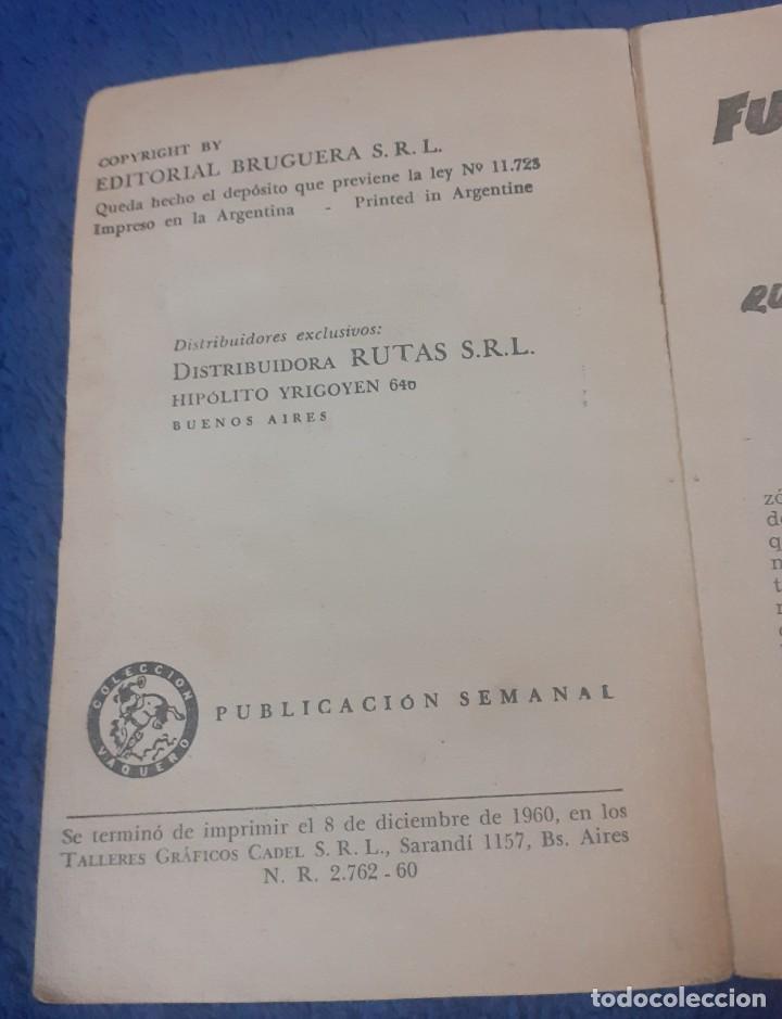 Libros antiguos: Novela del Oeste año 1960 argentina - Foto 3 - 247680640