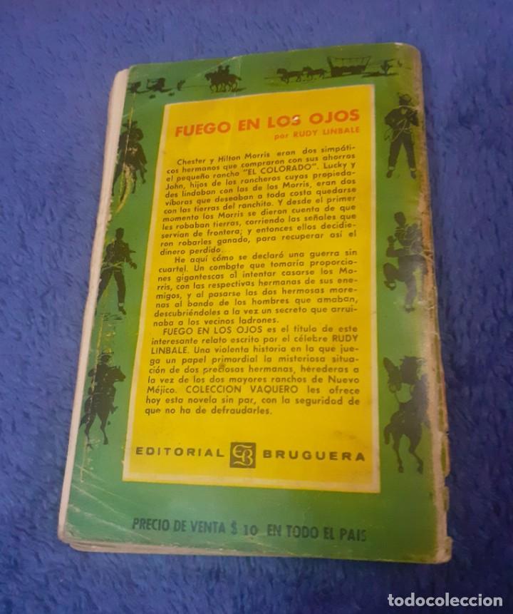 Libros antiguos: Novela del Oeste año 1960 argentina - Foto 5 - 247680640