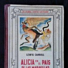 Libros antiguos: ALICIA EN EL PAÍS DE LAS MARAVILLAS - LEWIS CARROLL, JUVENTUDE, 1935.. Lote 248571370