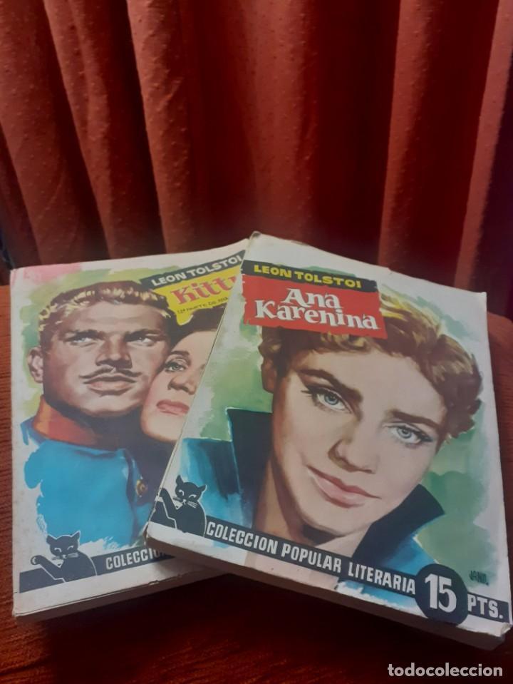 2 NOVELAS ANA KARENINA PARTE 1 Y 2 DE LOS AÑOS 60 (Libros Antiguos, Raros y Curiosos - Literatura Infantil y Juvenil - Novela)
