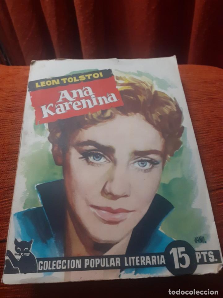 Libros antiguos: 2 Novelas Ana Karenina parte 1 y 2 de los años 60 - Foto 3 - 251642375