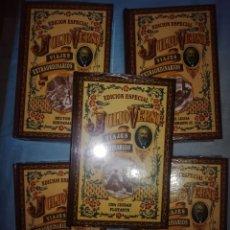 Livros antigos: VIAJES EXTRAORDINARIOS. JULIO VERNE. CLUB INTERNACIONAL DEL LIBRO. 5 TOMOS. Lote 254049255