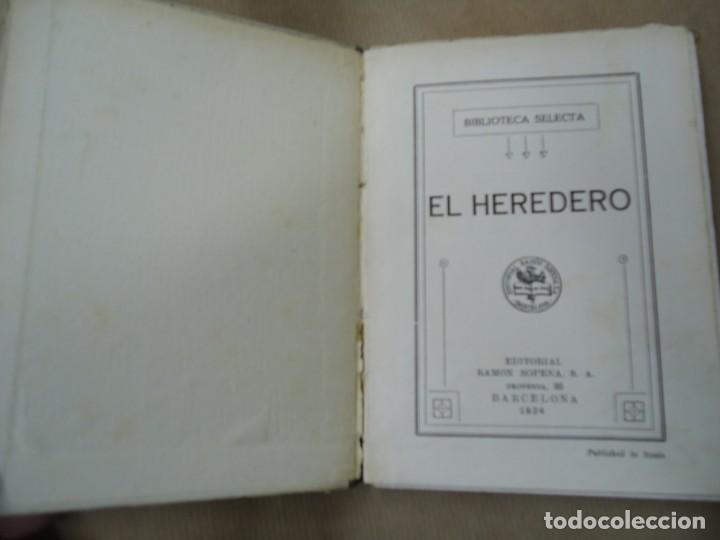 Libros antiguos: EL HERDERO 1934 BIBLIOTECA SELECTA DE SOPENA CON 74 PÁGINAS ILUSTRADO ENCUADERNACIÓN ORIGINAL EN CAR - Foto 3 - 254350370