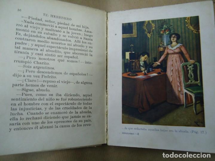 Libros antiguos: EL HERDERO 1934 BIBLIOTECA SELECTA DE SOPENA CON 74 PÁGINAS ILUSTRADO ENCUADERNACIÓN ORIGINAL EN CAR - Foto 4 - 254350370