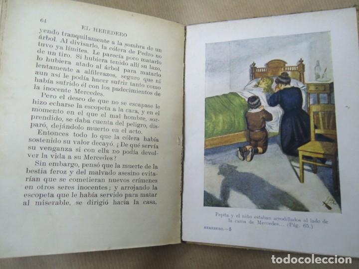 Libros antiguos: EL HERDERO 1934 BIBLIOTECA SELECTA DE SOPENA CON 74 PÁGINAS ILUSTRADO ENCUADERNACIÓN ORIGINAL EN CAR - Foto 5 - 254350370