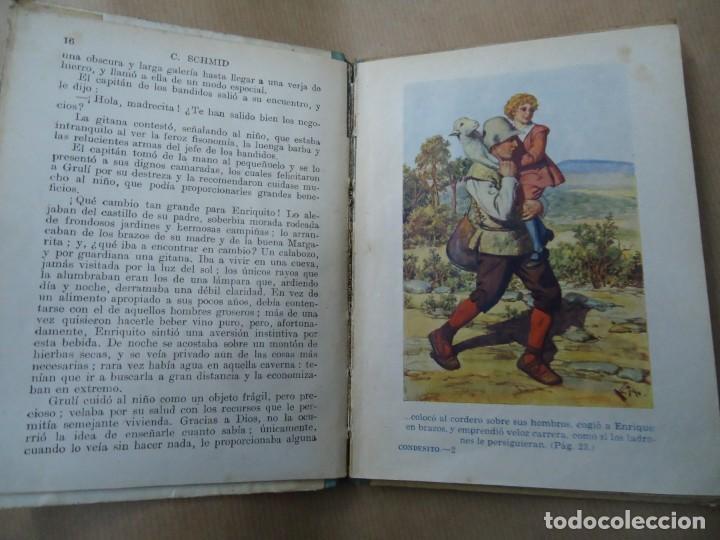 Libros antiguos: EL CONDESITO 1941 CRISTOBAL SCHID BIBLIOTECA SELECTA DE SOPENA CON 78 PÁGINAS ILUSTRADO ENCUADERNACI - Foto 4 - 254353135