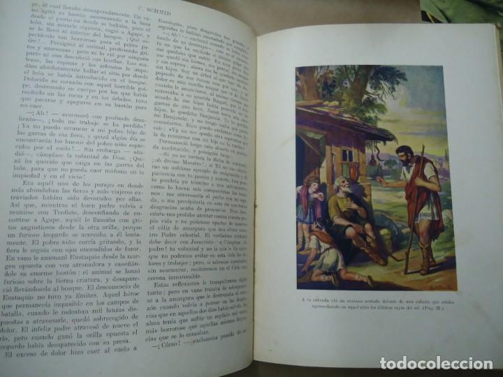 Libros antiguos: BIBLIOTECA PARA NIÑOS EUSTAQUIO 1934 CRISTÓBAL SCHMID CON 62 PÁGNAS EDITA RAMÓN SOPENA - Foto 5 - 254362850