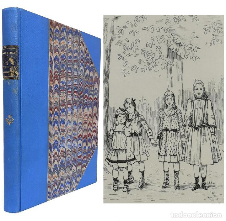 1893 - LIBRO ANTIGUO INFANTIL ILUSTRADO - SIGLO XIX - LITERATURA PARA NIÑOS - ENCUADERNACIÓN (Libros Antiguos, Raros y Curiosos - Literatura Infantil y Juvenil - Novela)