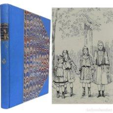 Libros antiguos: 1893 - LIBRO ANTIGUO INFANTIL ILUSTRADO - SIGLO XIX - LITERATURA PARA NIÑOS - ENCUADERNACIÓN. Lote 255344365