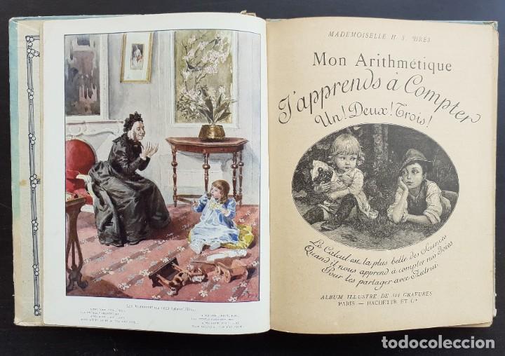1900 - RARO LIBRO PARA NIÑOS PARA APRENDER A CONTAR - ARITMÉTICA INFANTIL - GRABADOS Y LÁMINAS (Libros Antiguos, Raros y Curiosos - Literatura Infantil y Juvenil - Novela)