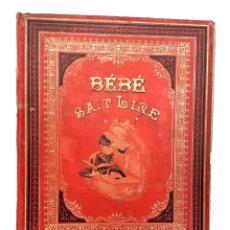 Libros antiguos: 1880 - RARO - CUENTOS CORTOS PARA APRENDER A LEER - GRABADOS COLOREADOS A MANO - SIGLO XIX. Lote 255346895