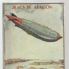 Libros antiguos: COLECCIÓN AVENTURA 235:EL CONTINENTE AEREO, 1930, PRIMERA EDICIÓN, JUVENTUD. COLECCIÓN A.T.. Lote 255371030