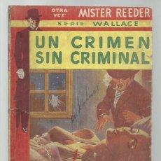 Libros antiguos: UN CRIMEN SIN CRIMINAL, 1956, TOR. COLECCIÓN A.T.. Lote 255373510