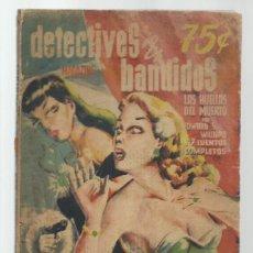 Libros antiguos: MAGAZINE DETECTIVES Y BANDIDOS 2, 1951, EDITORA MEXICANA DE PUBLICACIONES. COLECCIÓN A.T.. Lote 255373910