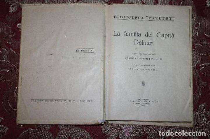 Libros antiguos: LOTE DE 8 NOVELAS DE LA BIBLIOTECA PATUFET. FOLCH Y TORRES. EDIT. BAGUÑA. 1919. - Foto 2 - 255933505
