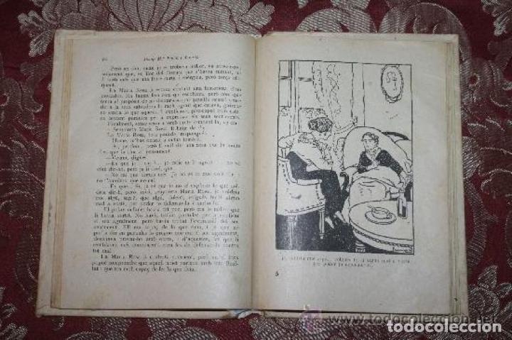 Libros antiguos: LOTE DE 8 NOVELAS DE LA BIBLIOTECA PATUFET. FOLCH Y TORRES. EDIT. BAGUÑA. 1919. - Foto 3 - 255933505