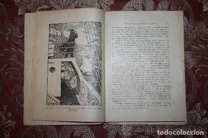 Libros antiguos: LOTE DE 8 NOVELAS DE LA BIBLIOTECA PATUFET. FOLCH Y TORRES. EDIT. BAGUÑA. 1919. - Foto 5 - 255933505
