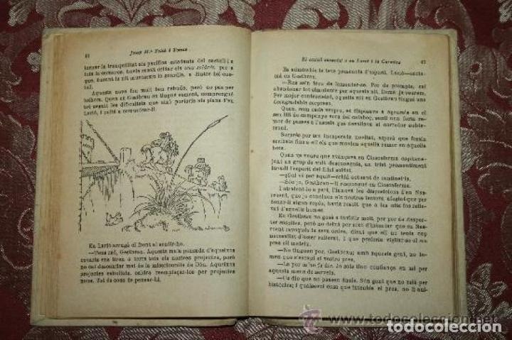 Libros antiguos: LOTE DE 8 NOVELAS DE LA BIBLIOTECA PATUFET. FOLCH Y TORRES. EDIT. BAGUÑA. 1919. - Foto 9 - 255933505