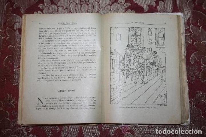 Libros antiguos: LOTE DE 8 NOVELAS DE LA BIBLIOTECA PATUFET. FOLCH Y TORRES. EDIT. BAGUÑA. 1919. - Foto 11 - 255933505