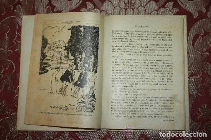 Libros antiguos: LOTE DE 8 NOVELAS DE LA BIBLIOTECA PATUFET. FOLCH Y TORRES. EDIT. BAGUÑA. 1919. - Foto 13 - 255933505