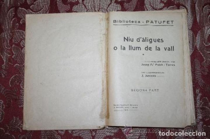 Libros antiguos: LOTE DE 8 NOVELAS DE LA BIBLIOTECA PATUFET. FOLCH Y TORRES. EDIT. BAGUÑA. 1919. - Foto 14 - 255933505