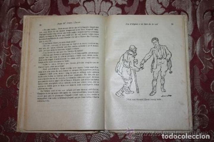 Libros antiguos: LOTE DE 8 NOVELAS DE LA BIBLIOTECA PATUFET. FOLCH Y TORRES. EDIT. BAGUÑA. 1919. - Foto 15 - 255933505