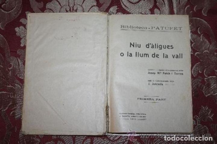Libros antiguos: LOTE DE 8 NOVELAS DE LA BIBLIOTECA PATUFET. FOLCH Y TORRES. EDIT. BAGUÑA. 1919. - Foto 16 - 255933505