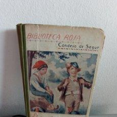 Libros antiguos: EL MAL CONSEJERO. LIBRO BIBLIOTECA ROSA. CONDESA DE SEGUR.1931. Lote 256025485