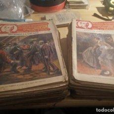 Libros antiguos: DETECTICE LORD JACKSON, RIVAL DE SHERLOCK HOLMES, `51 DE 52 NOVELAS CENTENARIAS. Lote 262412345