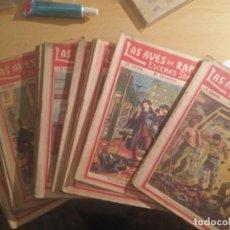 Libros antiguos: LAS AVES DE RAPIÑA, ESCENAS SOCIALES 25 NOVELITAS CENTENARIAS. Lote 262419675