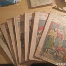 Libros antiguos: LAS GRANDES AVENTURAS, NOVELITAS CENTENARIAS , 9 NUMEROS. Lote 262419930