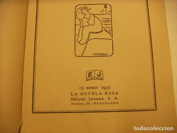 Libros antiguos: EL DOCUMENTO PERDIDO H.COURTHS MAHLER 1ª EDICION LA NOVELA ROSA 127 PAGS BARCELONA 1932 - Foto 2 - 262782175