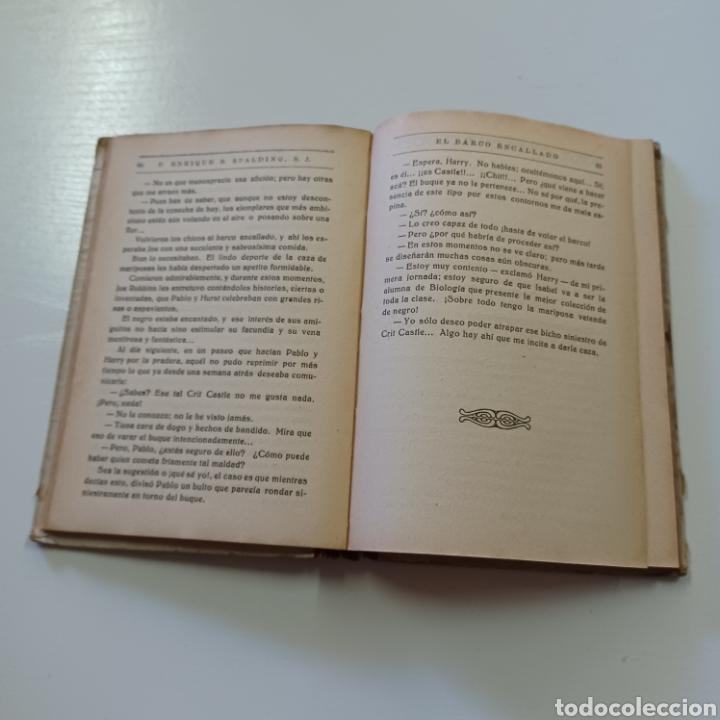 Libros antiguos: EL BARCO ENCALLADO - P. ENRIQUE S. SPALDING 1933 NARRACIONES ESCOLARES - Foto 5 - 267871749