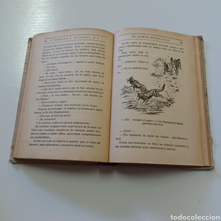 Libros antiguos: EL BARCO ENCALLADO - P. ENRIQUE S. SPALDING 1933 NARRACIONES ESCOLARES - Foto 6 - 267871749