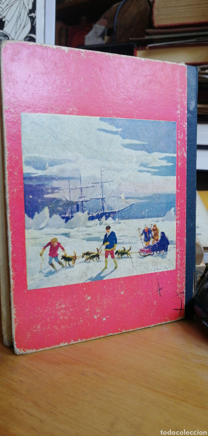 Libros antiguos: Julio Verne. Una invernada entre los hielos. Biblioteca Selecta Sopena nº 69. Año 1932 in 8º m 16,5x - Foto 2 - 267902024