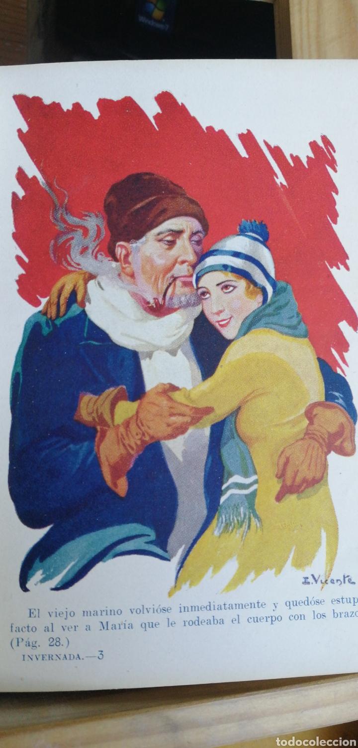 Libros antiguos: Julio Verne. Una invernada entre los hielos. Biblioteca Selecta Sopena nº 69. Año 1932 in 8º m 16,5x - Foto 5 - 267902024