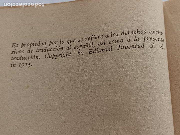 Libros antiguos: PETER PAN Y WENDY J.M.BARRIE EDITORIAL JUVENTUD 1925 1° EDICION - Foto 5 - 268600909