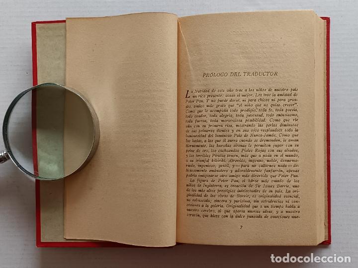 Libros antiguos: PETER PAN Y WENDY J.M.BARRIE EDITORIAL JUVENTUD 1925 1° EDICION - Foto 7 - 268600909
