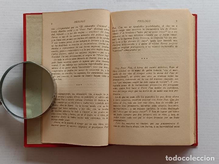 Libros antiguos: PETER PAN Y WENDY J.M.BARRIE EDITORIAL JUVENTUD 1925 1° EDICION - Foto 8 - 268600909