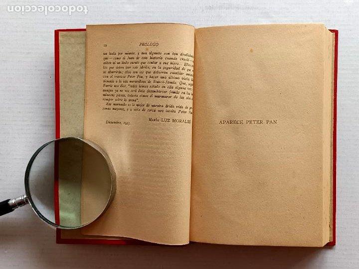 Libros antiguos: PETER PAN Y WENDY J.M.BARRIE EDITORIAL JUVENTUD 1925 1° EDICION - Foto 9 - 268600909