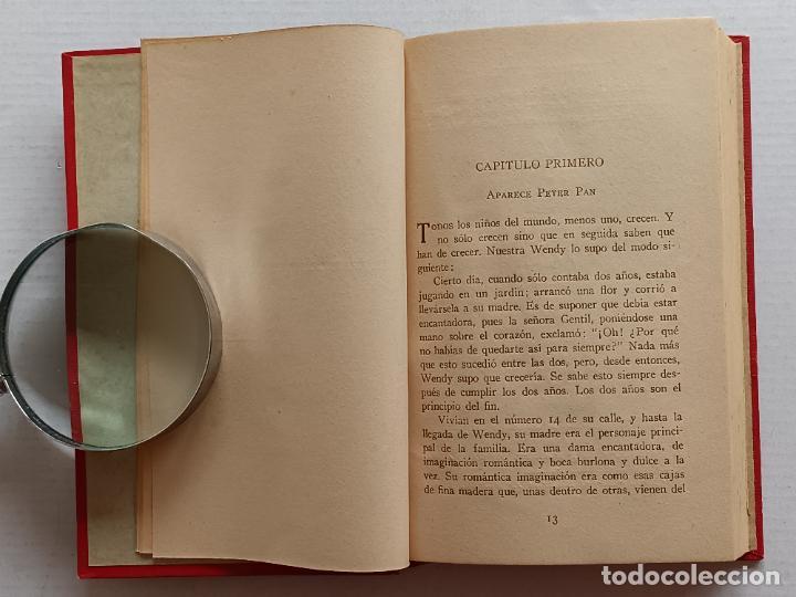 Libros antiguos: PETER PAN Y WENDY J.M.BARRIE EDITORIAL JUVENTUD 1925 1° EDICION - Foto 10 - 268600909