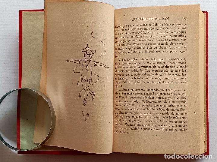 Libros antiguos: PETER PAN Y WENDY J.M.BARRIE EDITORIAL JUVENTUD 1925 1° EDICION - Foto 13 - 268600909