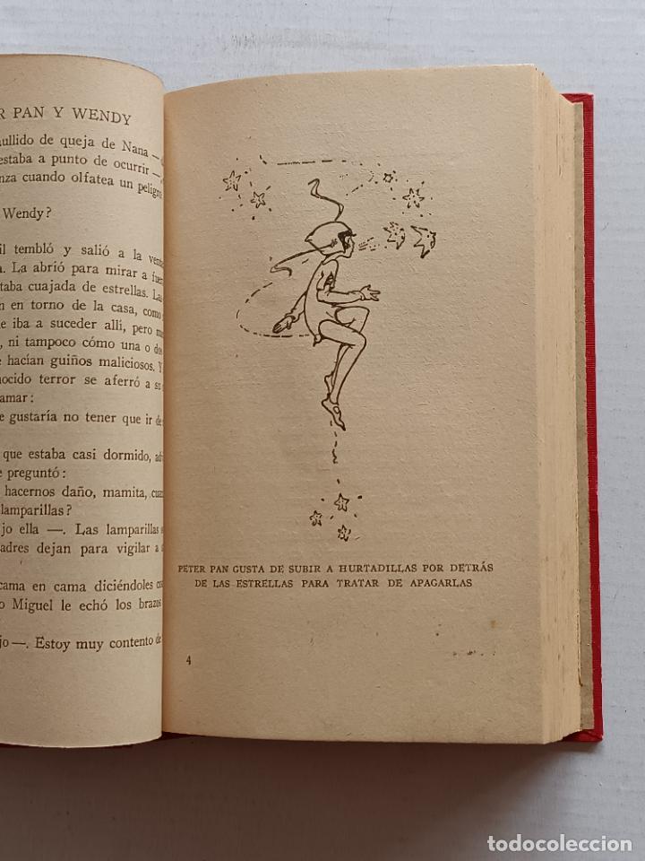 Libros antiguos: PETER PAN Y WENDY J.M.BARRIE EDITORIAL JUVENTUD 1925 1° EDICION - Foto 14 - 268600909