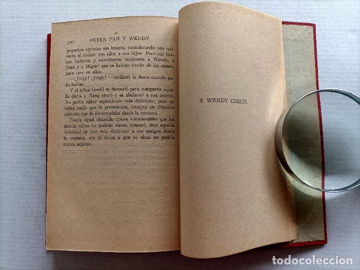 Libros antiguos: PETER PAN Y WENDY J.M.BARRIE EDITORIAL JUVENTUD 1925 1° EDICION - Foto 15 - 268600909