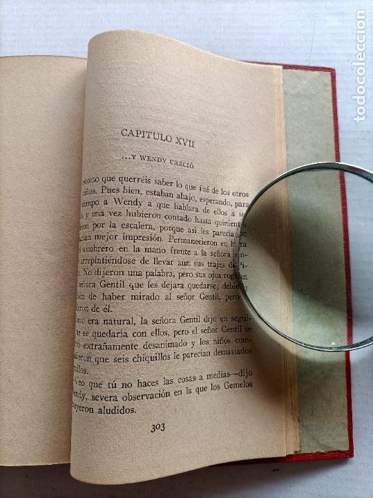 Libros antiguos: PETER PAN Y WENDY J.M.BARRIE EDITORIAL JUVENTUD 1925 1° EDICION - Foto 16 - 268600909