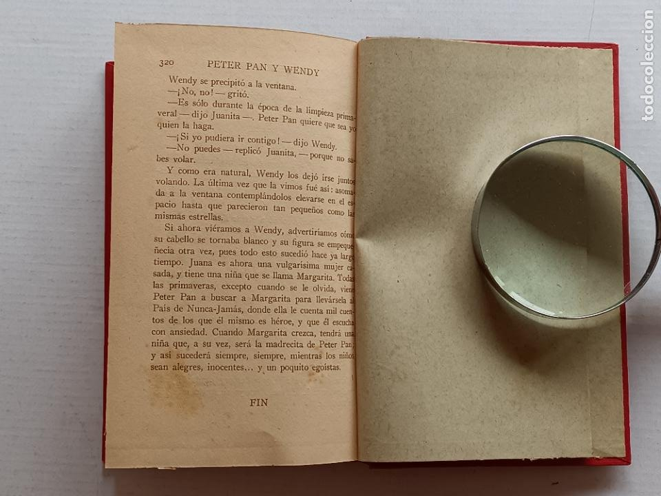 Libros antiguos: PETER PAN Y WENDY J.M.BARRIE EDITORIAL JUVENTUD 1925 1° EDICION - Foto 18 - 268600909