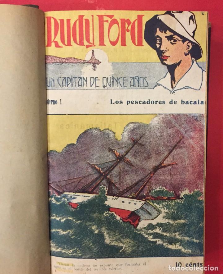 Libros antiguos: RUDY FORD UN CAPITAN DE 15 AÑOS, COLECCION COMPLLETA DE 32 NUMEROS - Foto 2 - 268734409