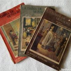 Libros antiguos: LA DAMA DE MONSOREAU - ALEJANDRO DUMAS. Lote 270978068